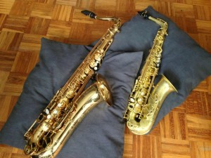 Forestone Saxophon Tenor Alt (7)